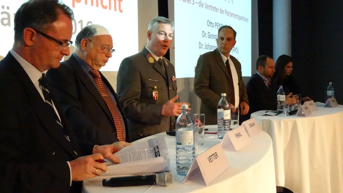 III. Tag der Wehrpflicht – Bedrohungen für Österreich